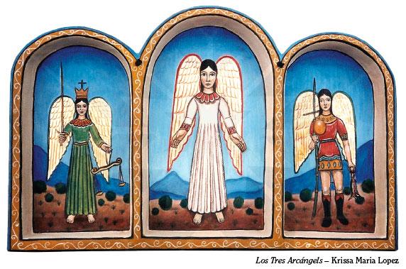 Los Tres Arcángels, Krissa Maria Lopez