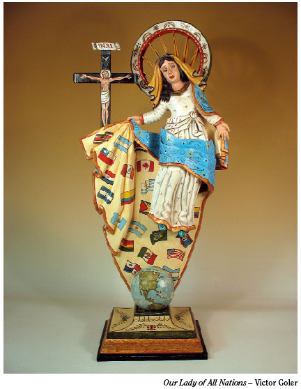 """Our Lady of All Nations,"" Victor Goler"