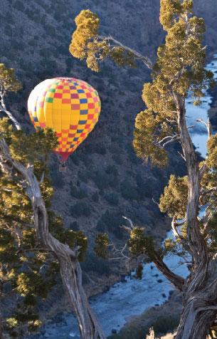 Hot Air Balloon, Rio Grande