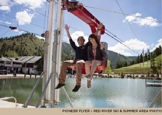 Red River Pioneer Flyer ride